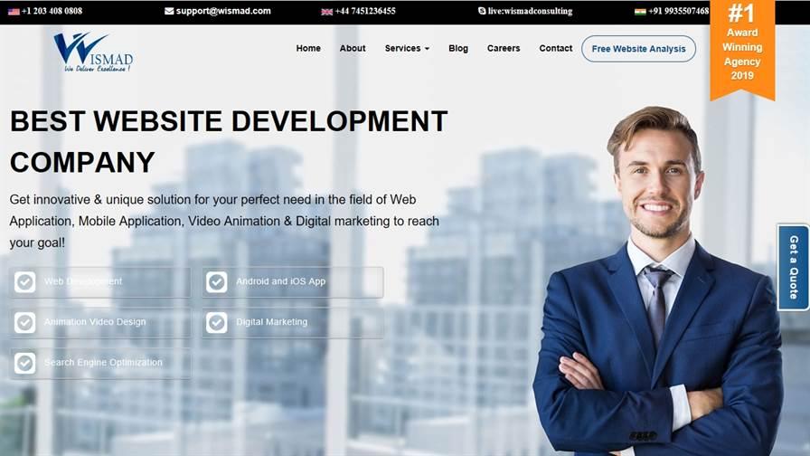 WISMAD | Website Designing & Development Company