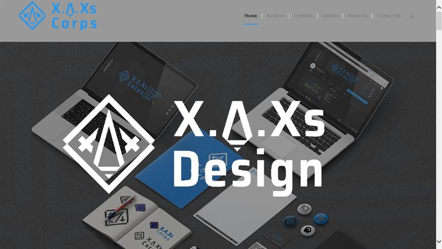 XAXs Corps.... Branding | Design | UI UX | Web