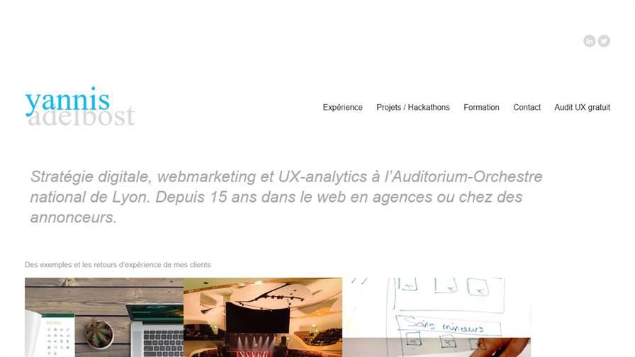 Yannis Adelbost / Digital - SocialMedia - UX - Analytics