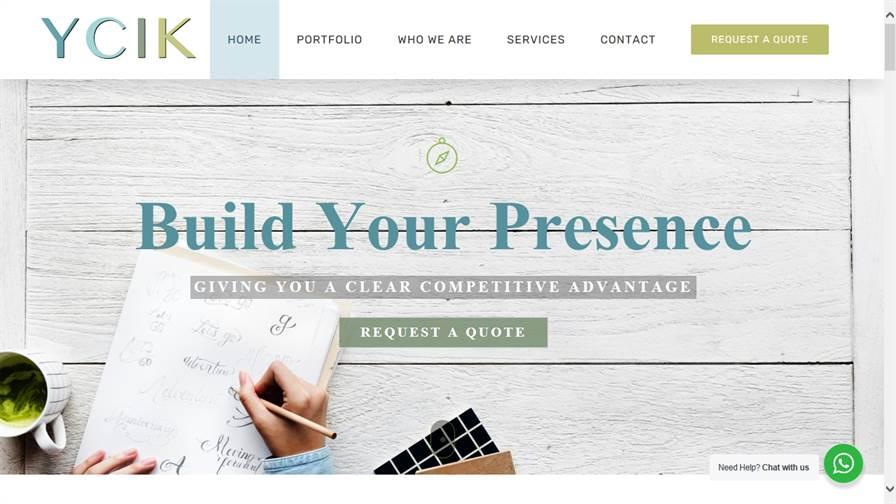 YCIK Digital - Website Design