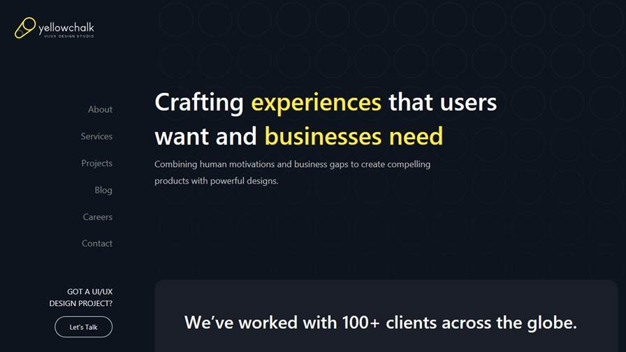 Yellowchalk UI/UX Design Studio