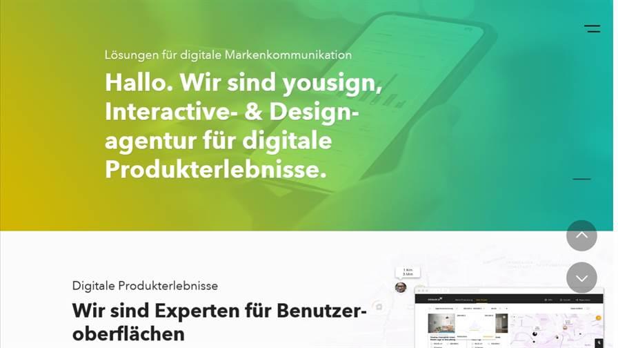 yousign GmbH – Interactive- & Designagentur Berlin