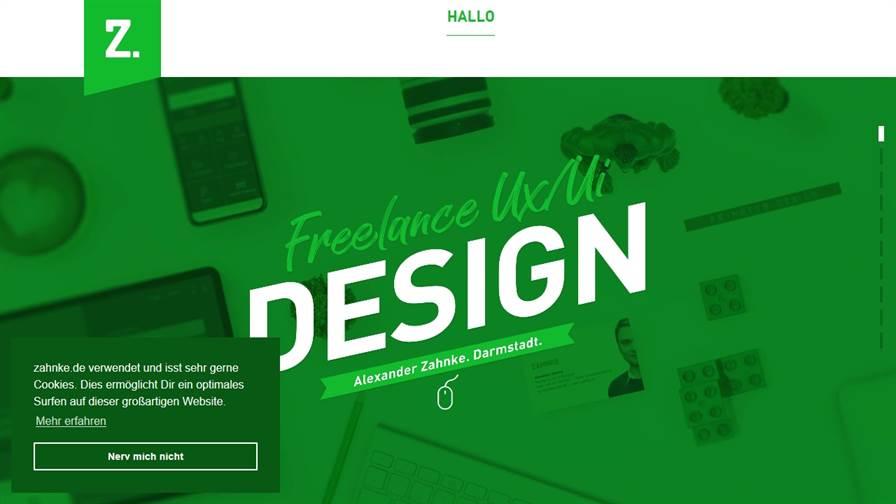 ZAHNKE. UI/UX Design