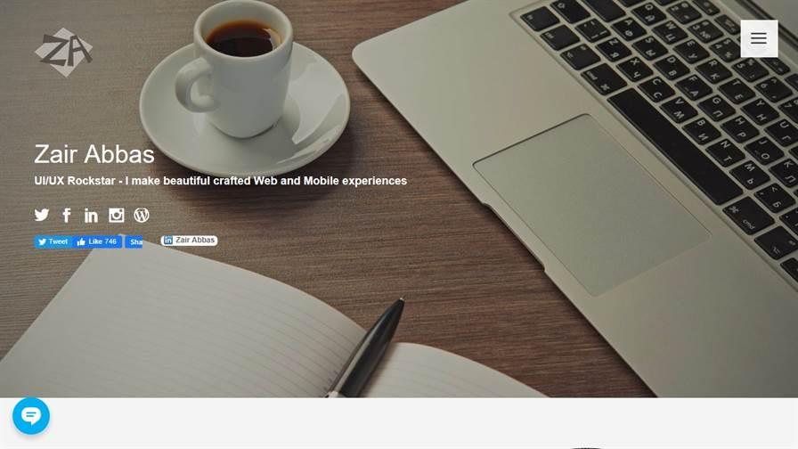 Zair Abbas | UI/UX Web Designer & Web Developer