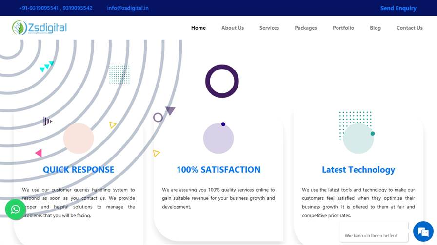 Zsdigital Pvt Ltd :: Website Design & Development, Mobile App Development, Digital Marketing, Graphic Design