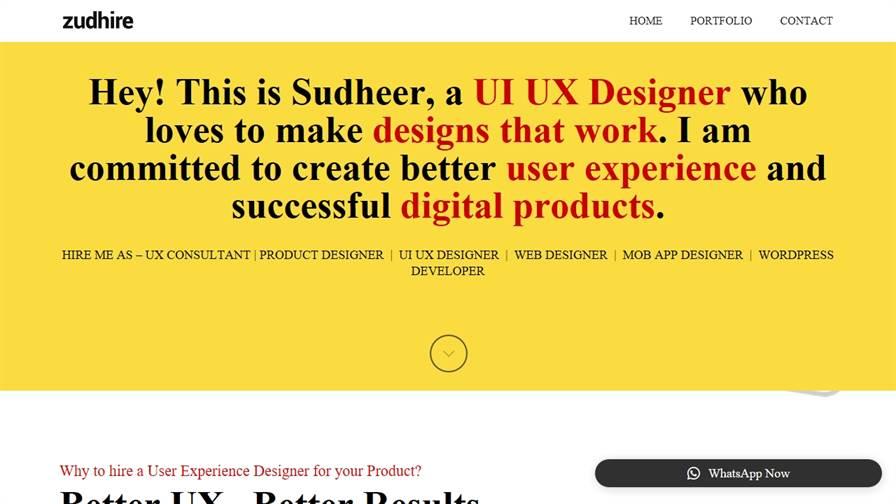 Freelance Web Designer Developer
